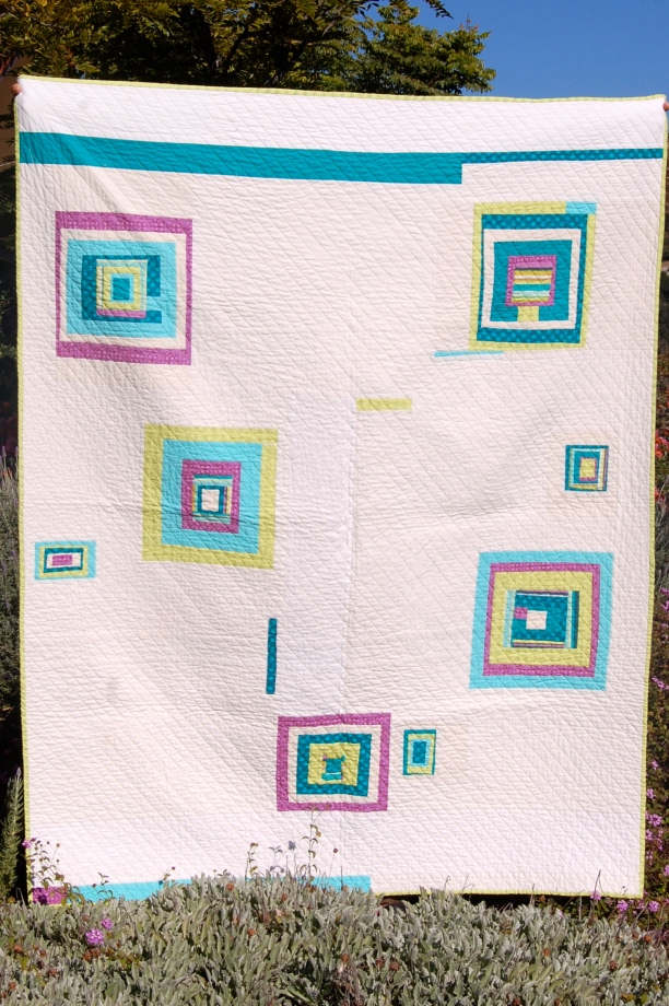 """time traveler"" quilt front"