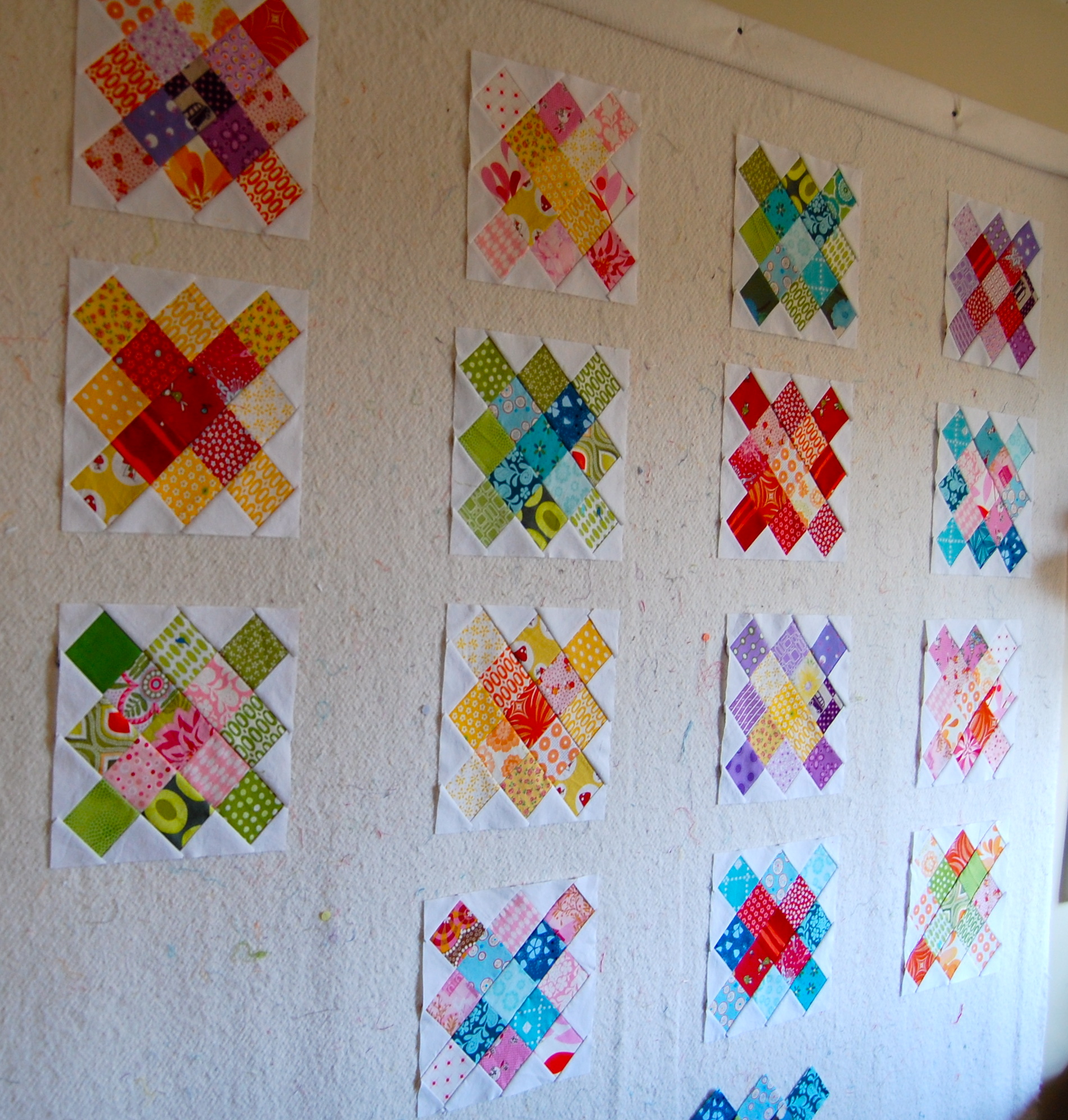 Design Wall For Quilting pick a plum quilt {aka}granny squares-finished!! | blooming poppies