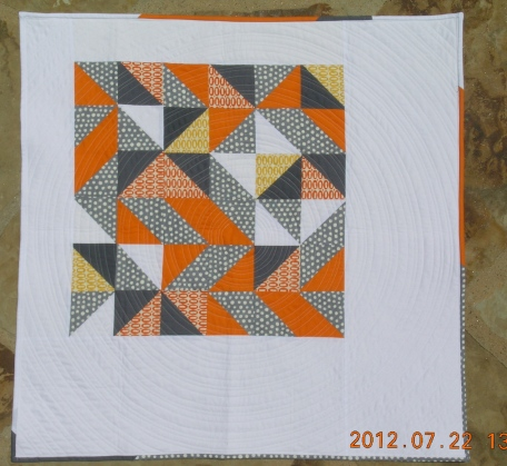 Any Road Quilt -- laying flat