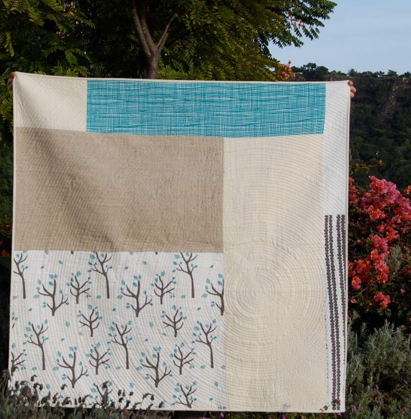 Sing It Out Loud Quilt back