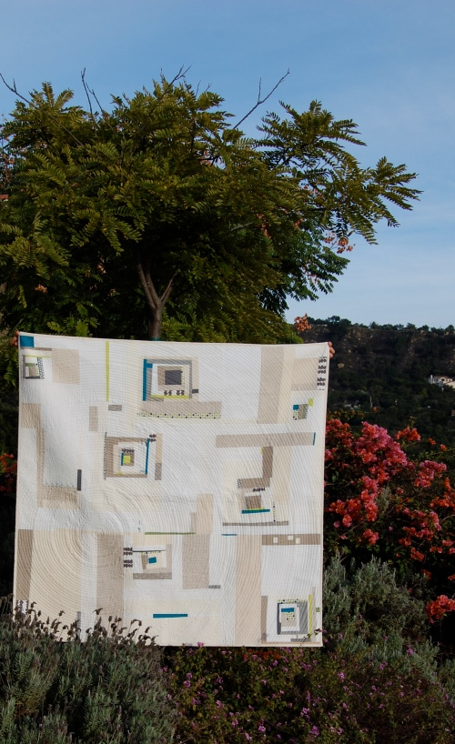 Sing It Out Loud Quilt  from afar