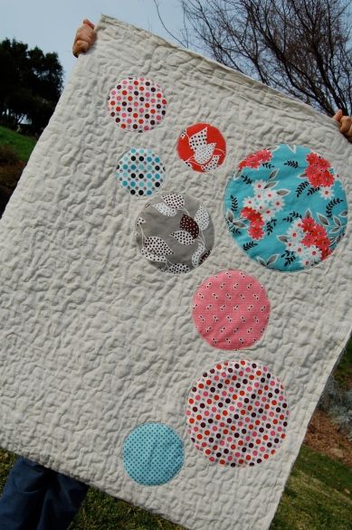 sampling of circles, Comfort and Joy Quilt