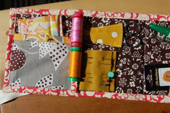 Travel Sew Kit open 2