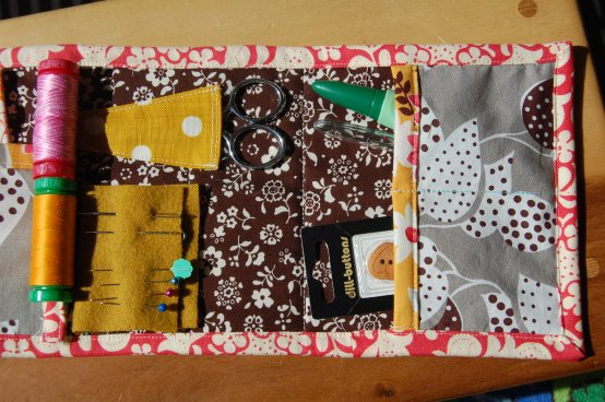 Travel Sew Kit open 3
