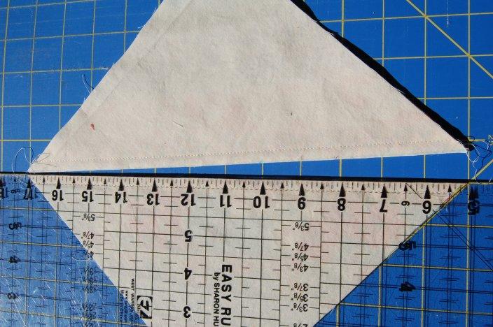 Step 8 Scrappy Strings HST block