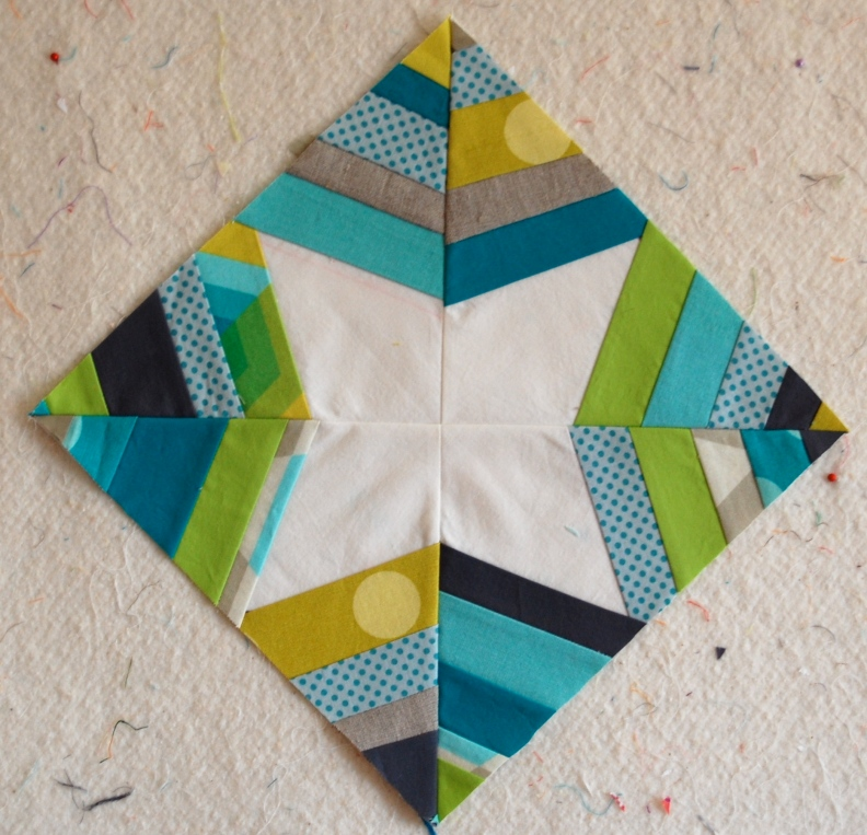 Spiderweb Quilt Block