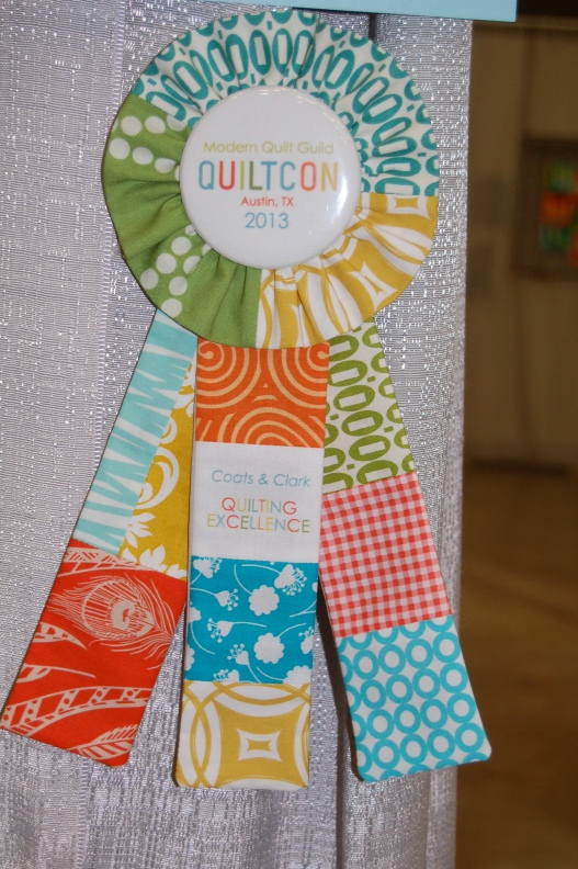 handmade award ribbon- awesome