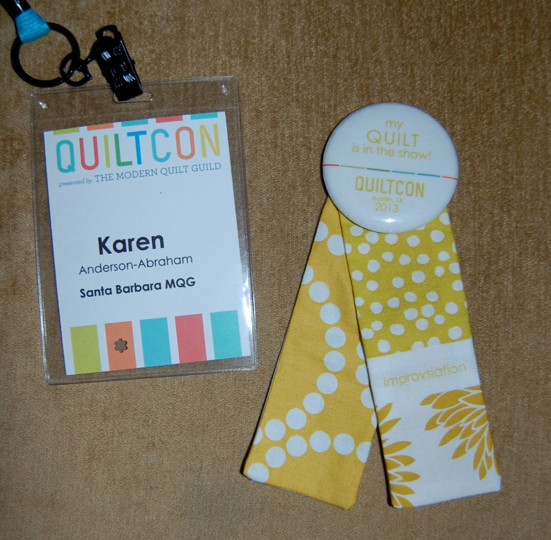 Attention to detail- Quilt Con