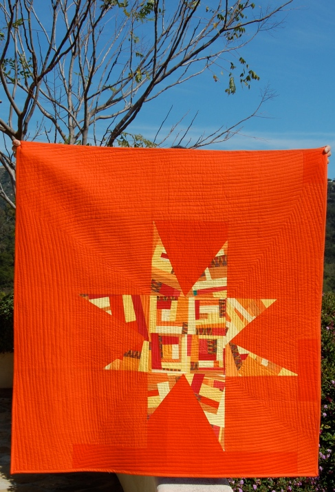 Dreamcatcher Quilt with branches
