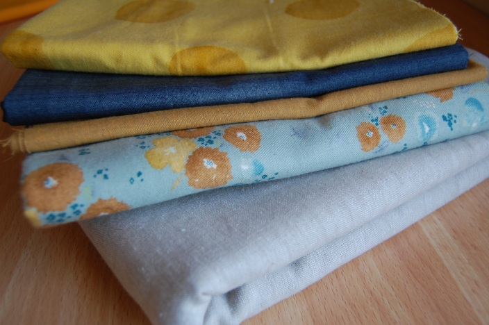 a variety of fabric goodness