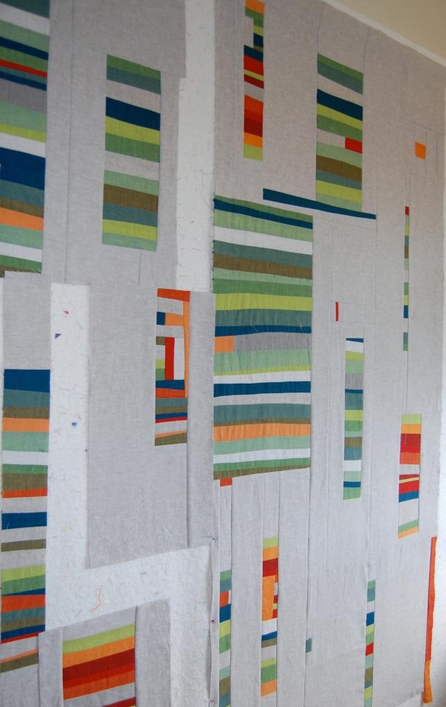 Untitled Oakshott on the design wall #4