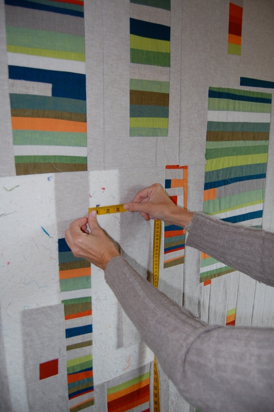 measuring for negative space piecing