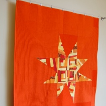 Dreamcatcher Quilt on new wallhanging system