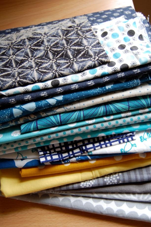 Fabric pull for Boston Charity Blocks