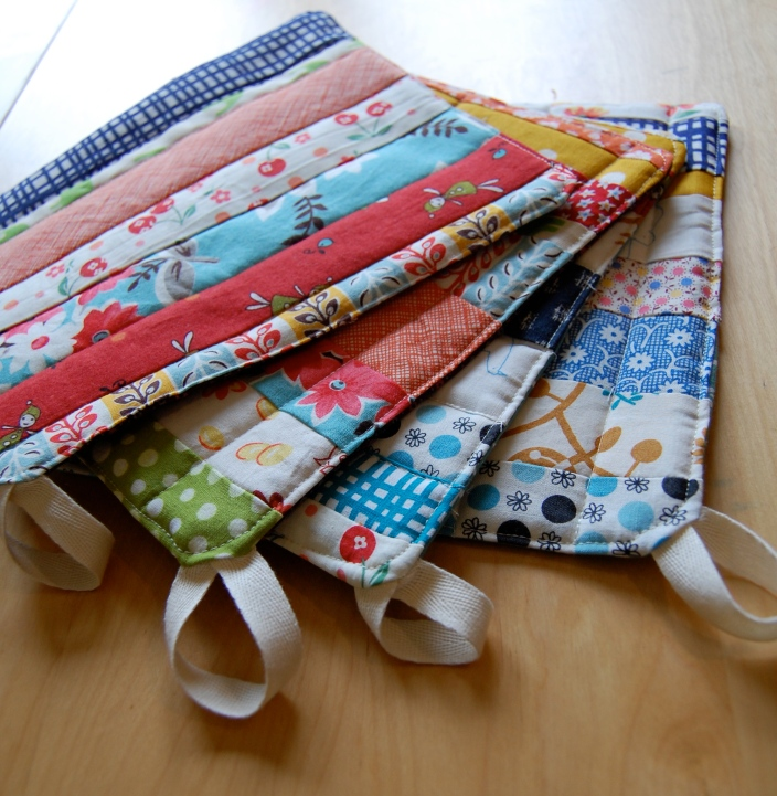 scrappy pot holders