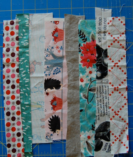 layout option #2 scrappy potholders