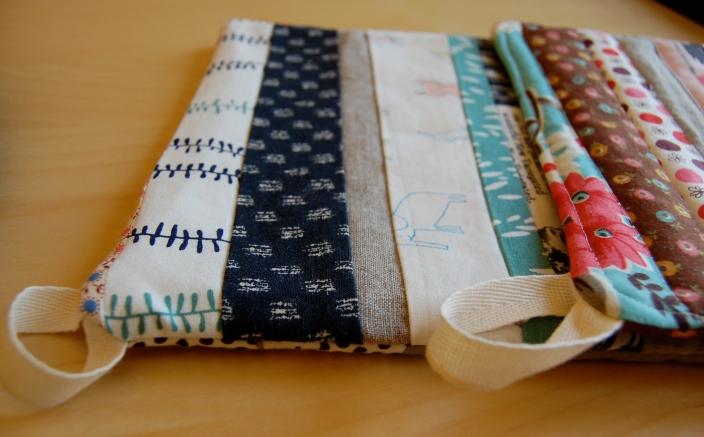 top stitching vs. no topstitching