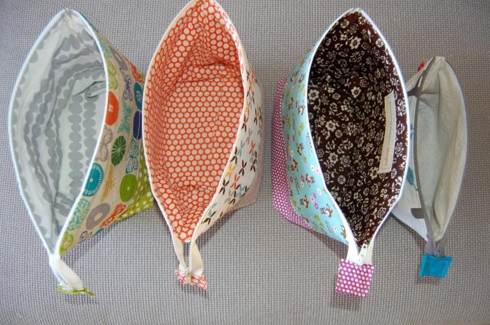 open pouches