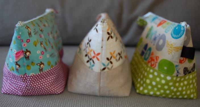 Handmade zipper pouches- bloomingpoppies