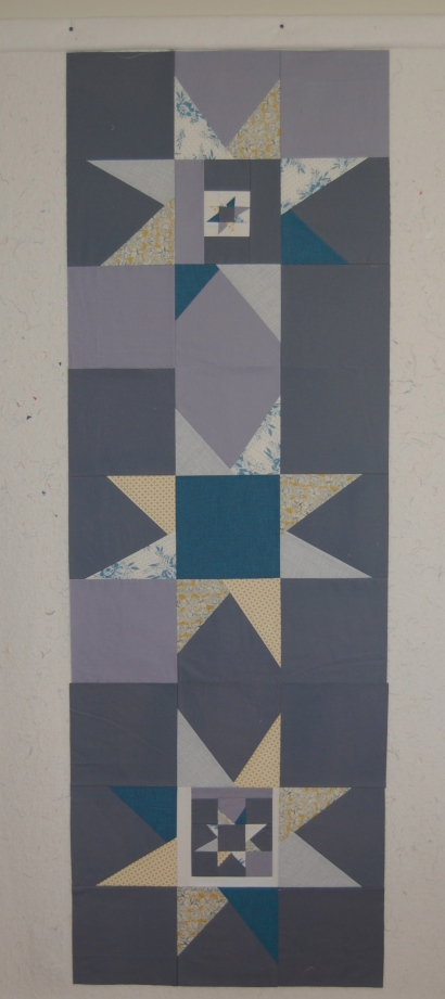 modern wonky star blocks