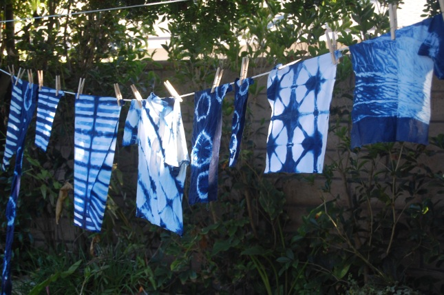 more indigo on the line