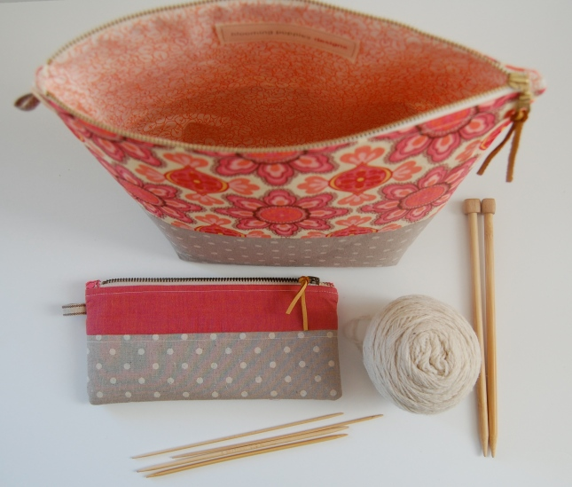 project bags- bloomingpoppies