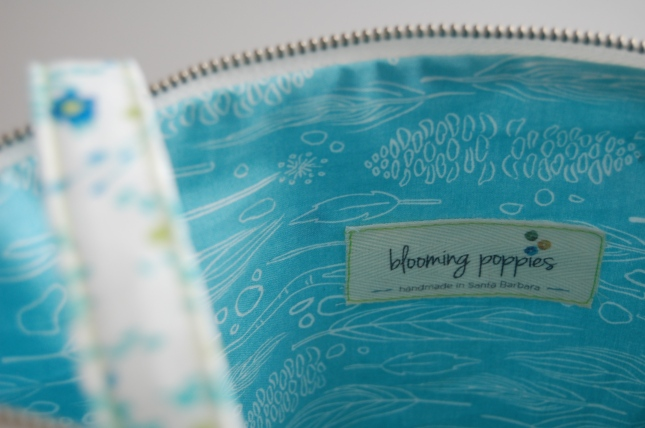 bag interior- bloomingpoppies