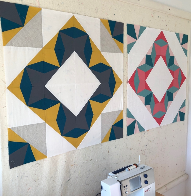 Portal Quilt Block- pattern prototypes
