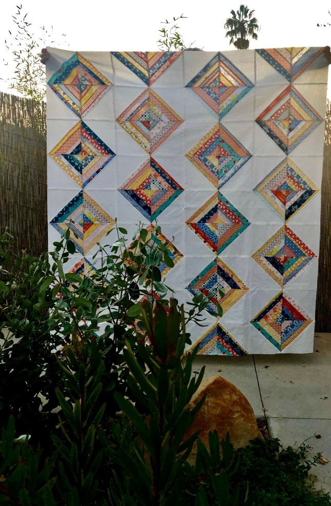 Bodhi Quilt-Throw Size by Blooming Poppies