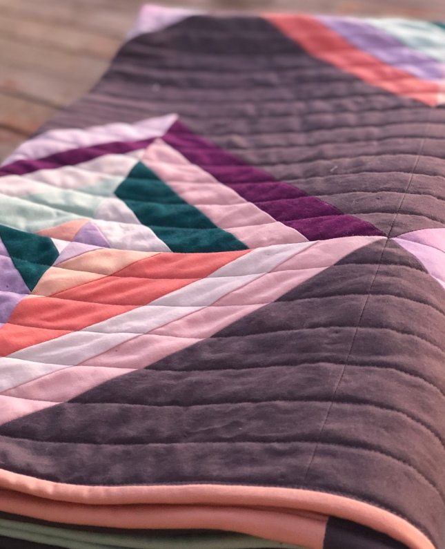 Bodhi Quilt in Solids by Bloomingpoppies