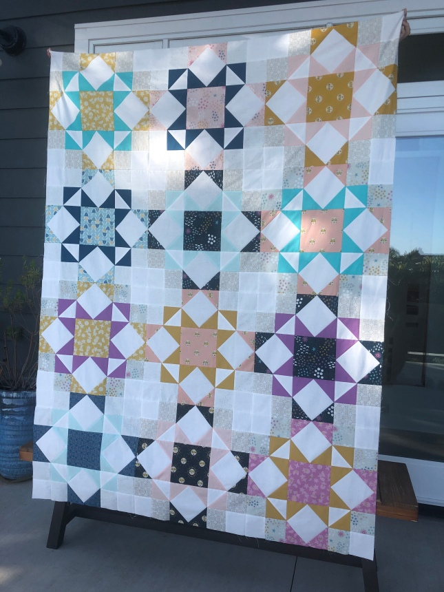 Journey Home Quilt top by Blooming Poppies