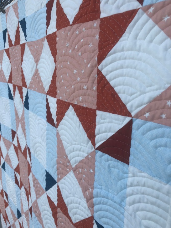 Journey Home Quilt by Blooming Poppies- Quilted by Jill Johnson