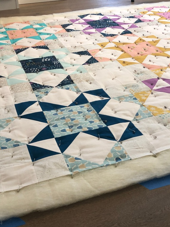 Journey Home Quilt by Blooming Poppies (wool batting)
